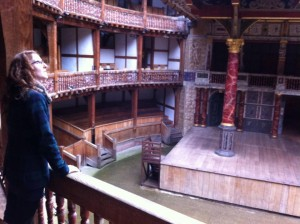 Me at the Globe