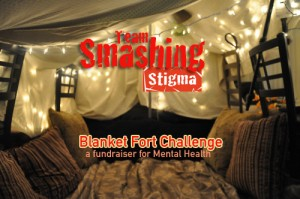 smashing stigma blanket fort image for mental health event may 29-30