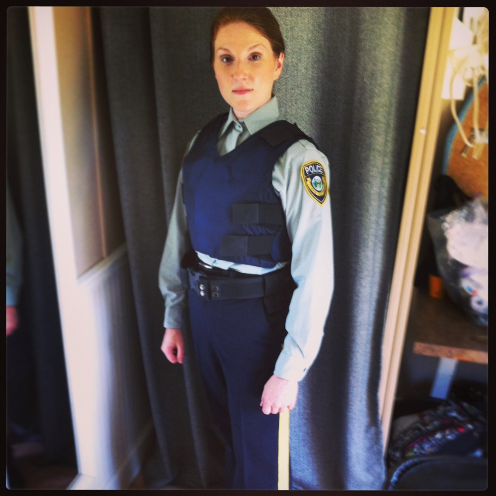 Full uniform cop
