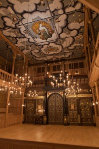 Inside the Sam Wanamaker Playhouse  photo by Pete Le May