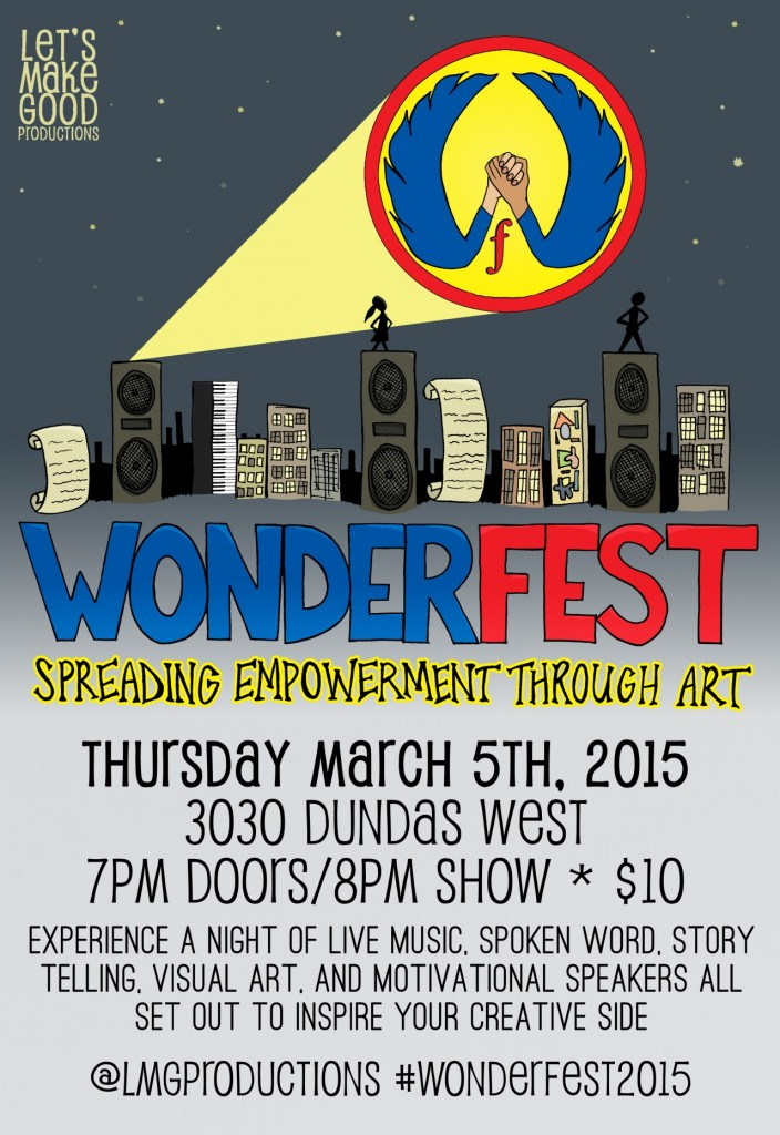 WonderFest Poster by @LMGProductions