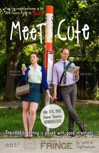 Meet Cute poster for Fringe Festival in Toronto