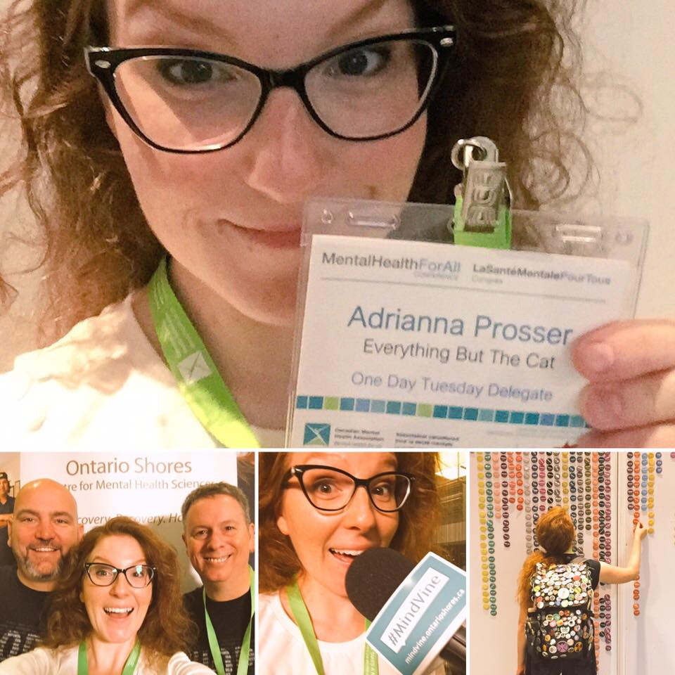 Adrianna at CMHA MH4A17 Conference