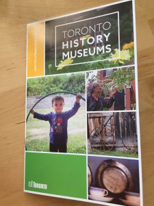 front cover of toronto historic sites museum magazine