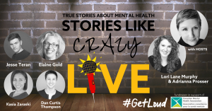 Stories Like Crazy LIVE event banner
